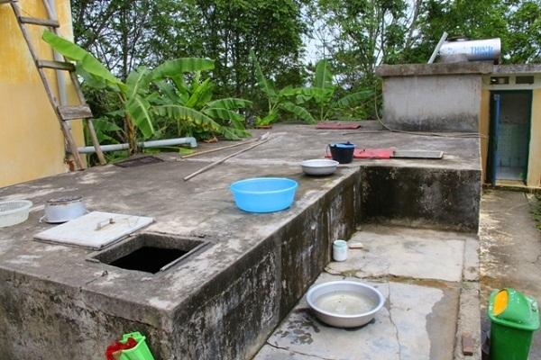 Bồn chứa nước truyền thống tiềm ẩn nhiều nguy hiểm.